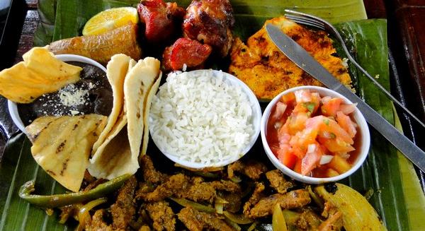 repas Costa Rica